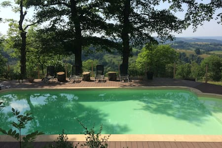 Family bliss, idyllic views, pool & fab food
