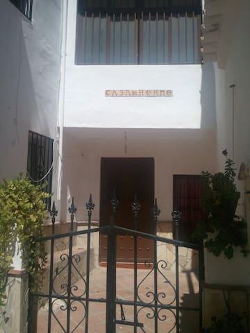 Alquiler de casa en Comares, ( Málaga) - Comares - Dům