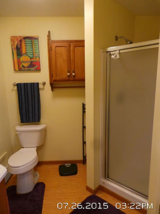 1 of 2 bathrooms in this unit