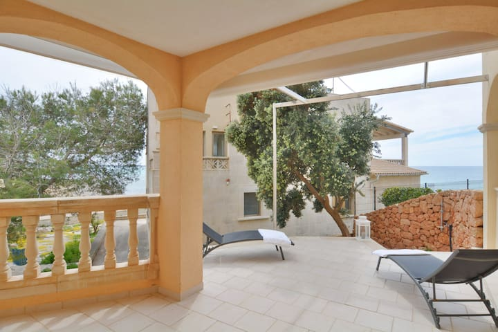 Seafront Apartment Paradise views in Mallorca - Campos - Daire