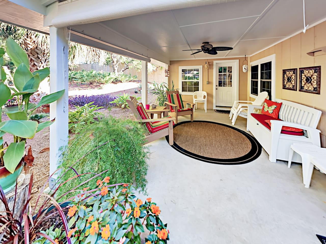 Welcome to Santa Rosa Beach! The Sunshine Cottage is professionally managed by TurnKey Vacation Rentals.