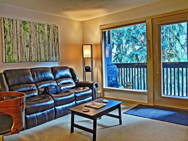 Vail Bus Route, Gore Creek Patio - Vail - Apartamento