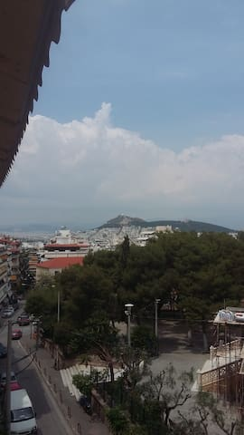 flat with marvellous view of Lycabettus