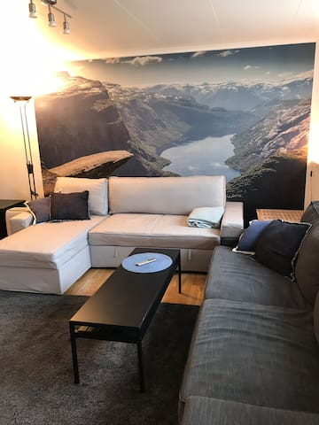 Cozy apartment 2 minutes from the city center.