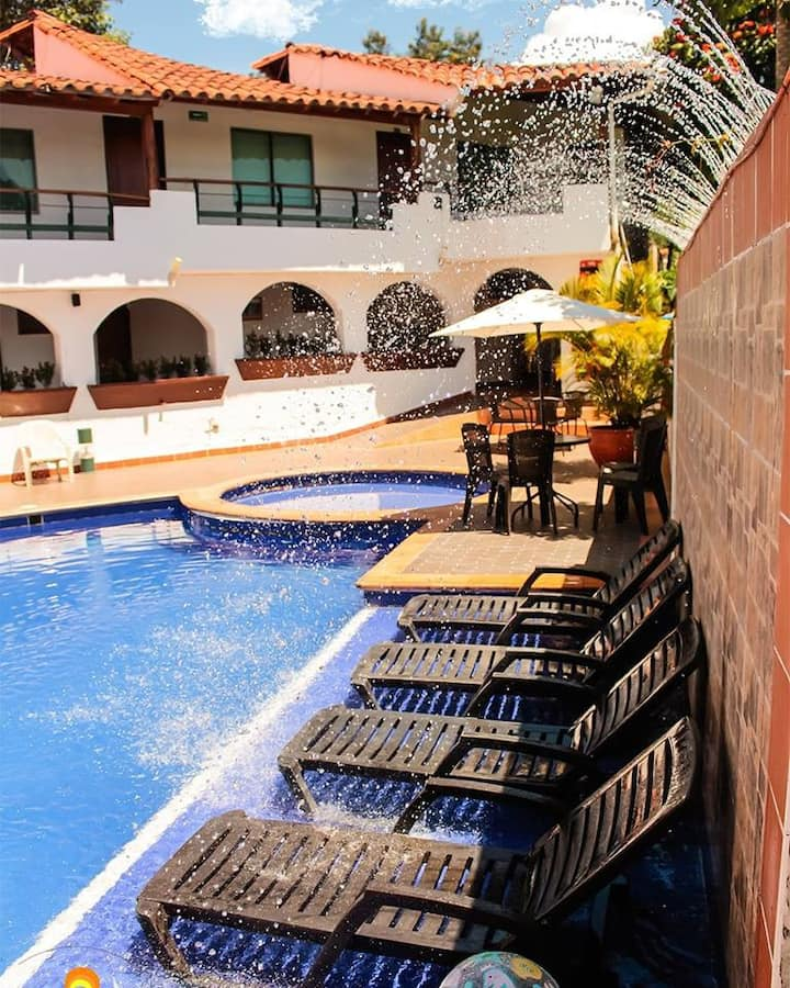 HOTEL MONCHUELO SPA habitacion doble