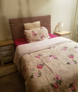 Lovely double room.