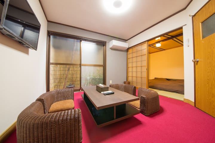 1min walk to Gion area!Up to 10 people! 3BR! Kyoto