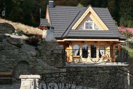 Dwupoziomowy Domek Alpejski - House