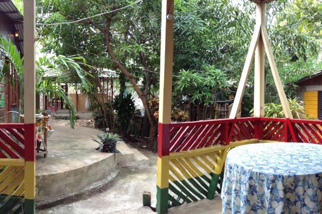 Backhouse verandas
