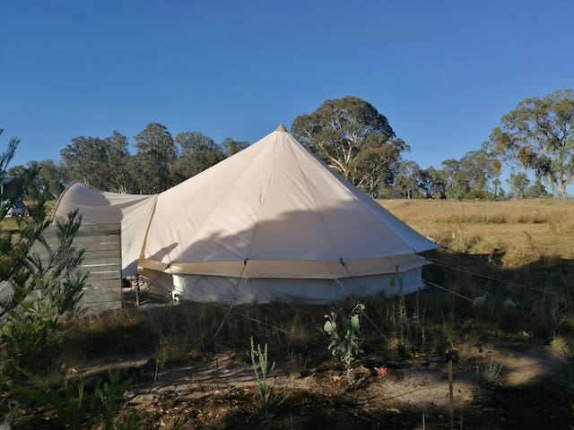 Comfy Glamping - New England Tablelands