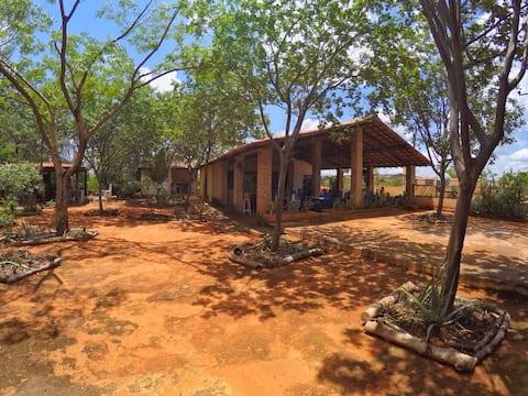 Quarto na Serra da Capivara com #café da manhã