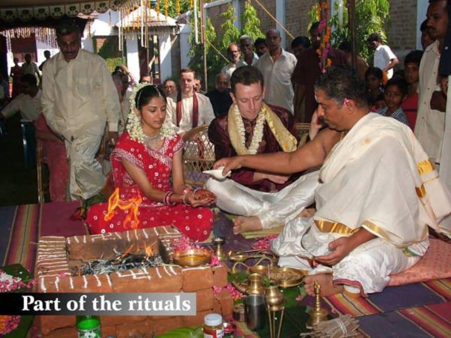 Wedding at the Tharavad