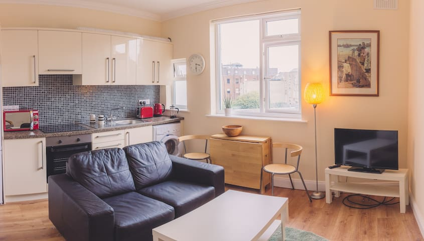 Bright & Modern 2bed in Dublin City Centre, Apt 3