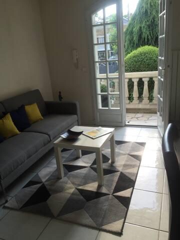 Charmant Duplex aux portes de Paris