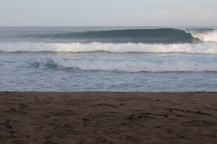 Only a 2-3 min. drive to World class Surfing, Swimming & Snorkel beaches