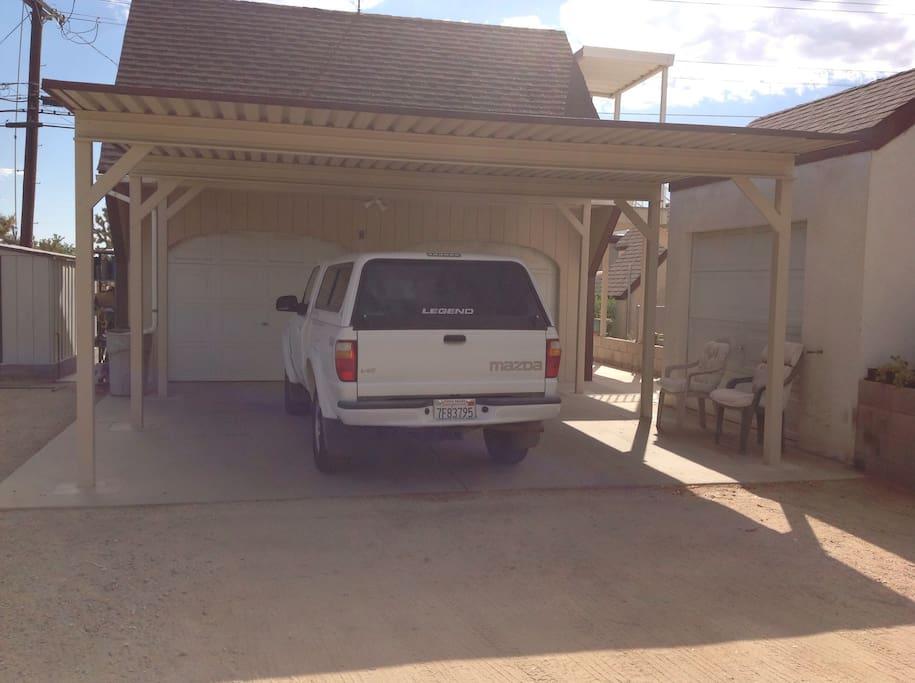 Covered carport