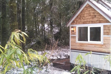Discovery trail tiny home - Port Angeles - Haus