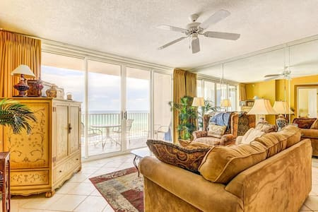 Island Princess 612-2BR-$127/Nt in Winter! Real Joy Fun Pass*SNOWBIRDS $1450/Mo+D/T/F*Gulf Front - Fort Walton Beach