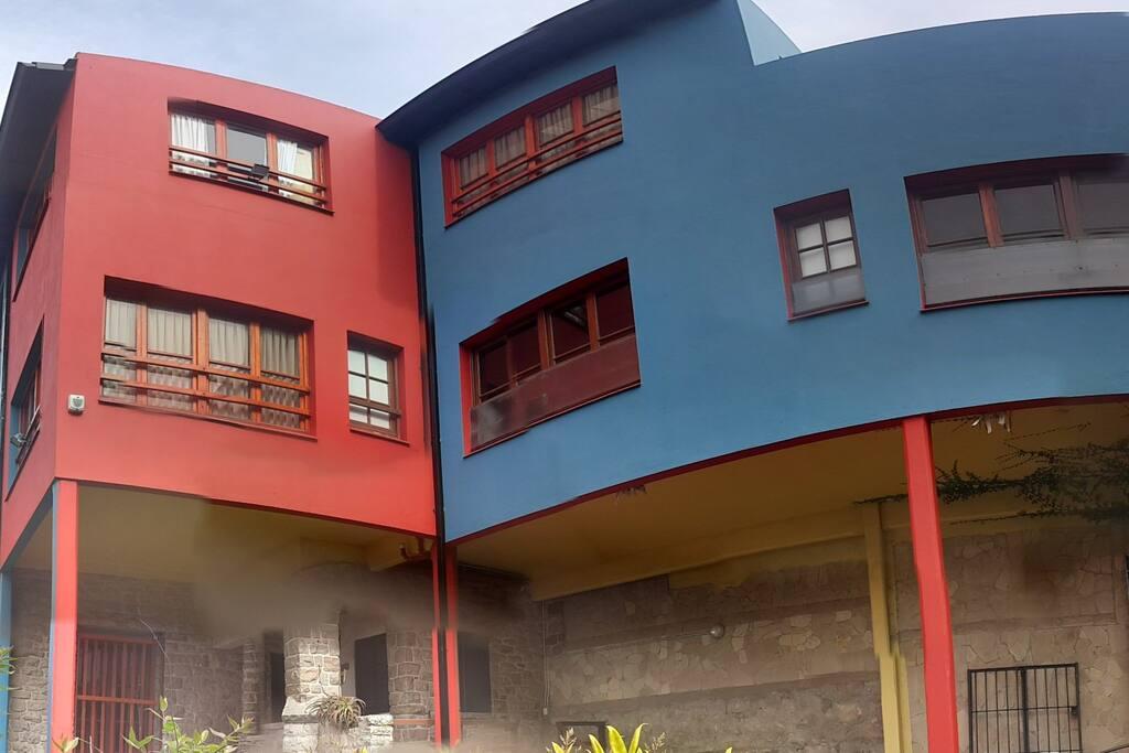 Modernísima decoración exterior