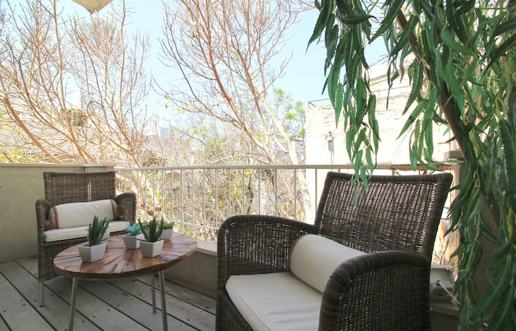 Quiet with sunny balcony/Cosy 2 bedrooms