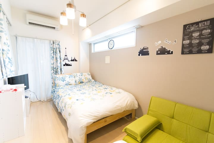 4min from station/Free WiFi/NearShibuya/Harajuku#4