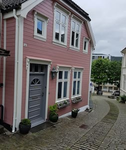 An historical house in  sentral  Bergen