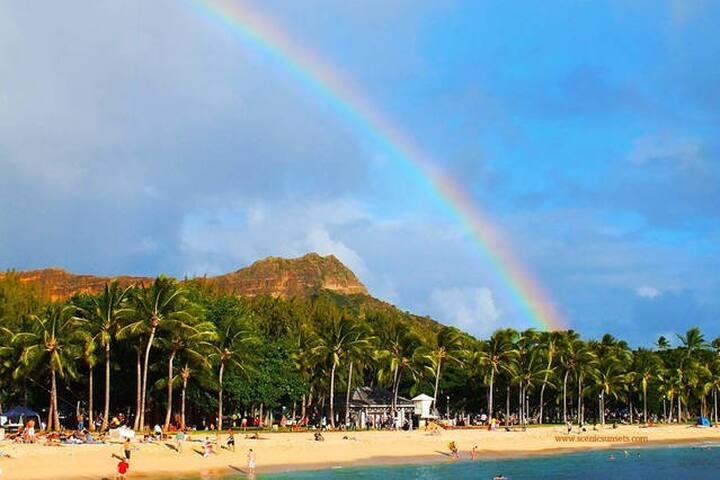 Bright House Near Waikiki Beach - Honolulu - House