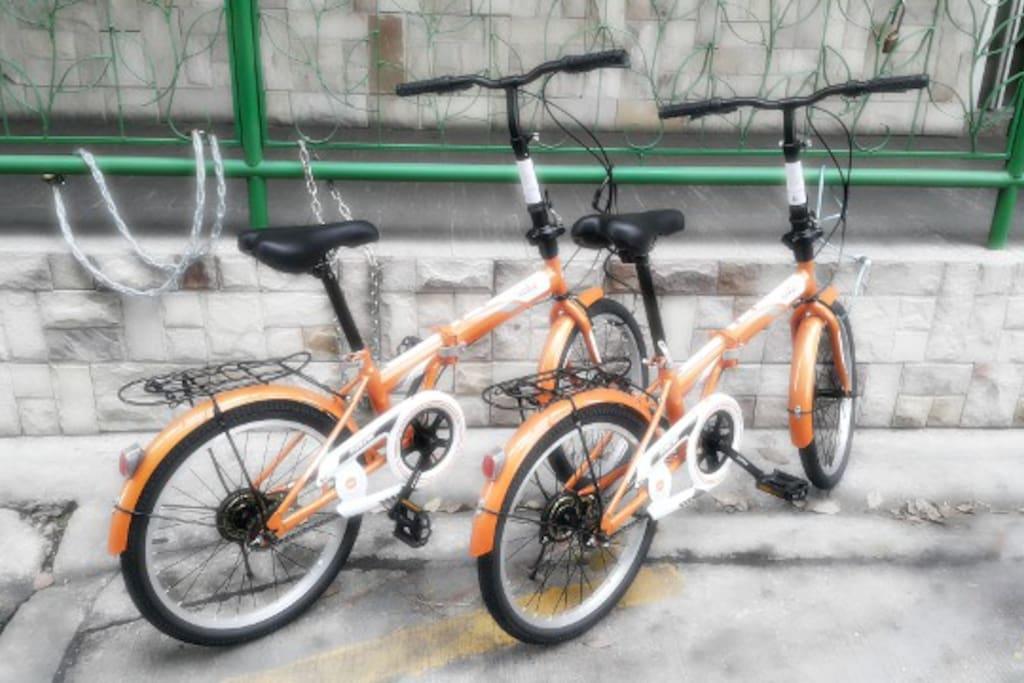 It's FREE rental bicycles!