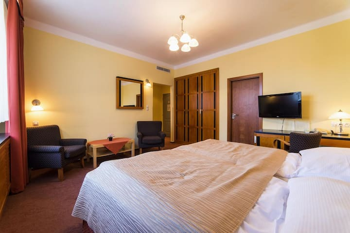 Double room with balcony Pension Homer