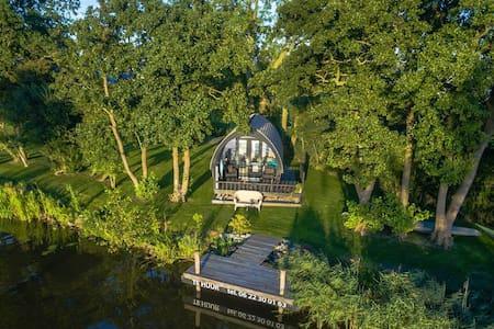Uniek huisje aan 11-stedenroute - Dokkum