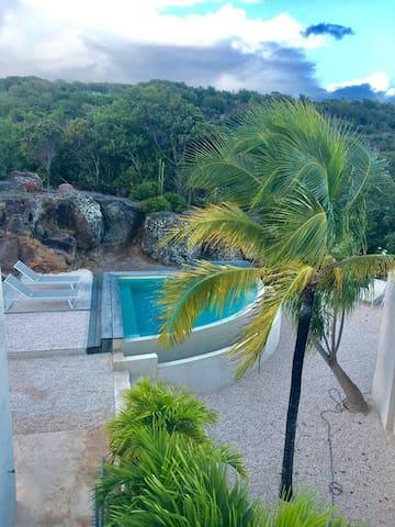 Chambre avec piscine privée - Gustavia - House