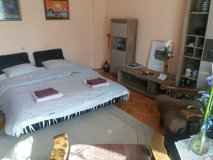 Guest room in central and peaceful area