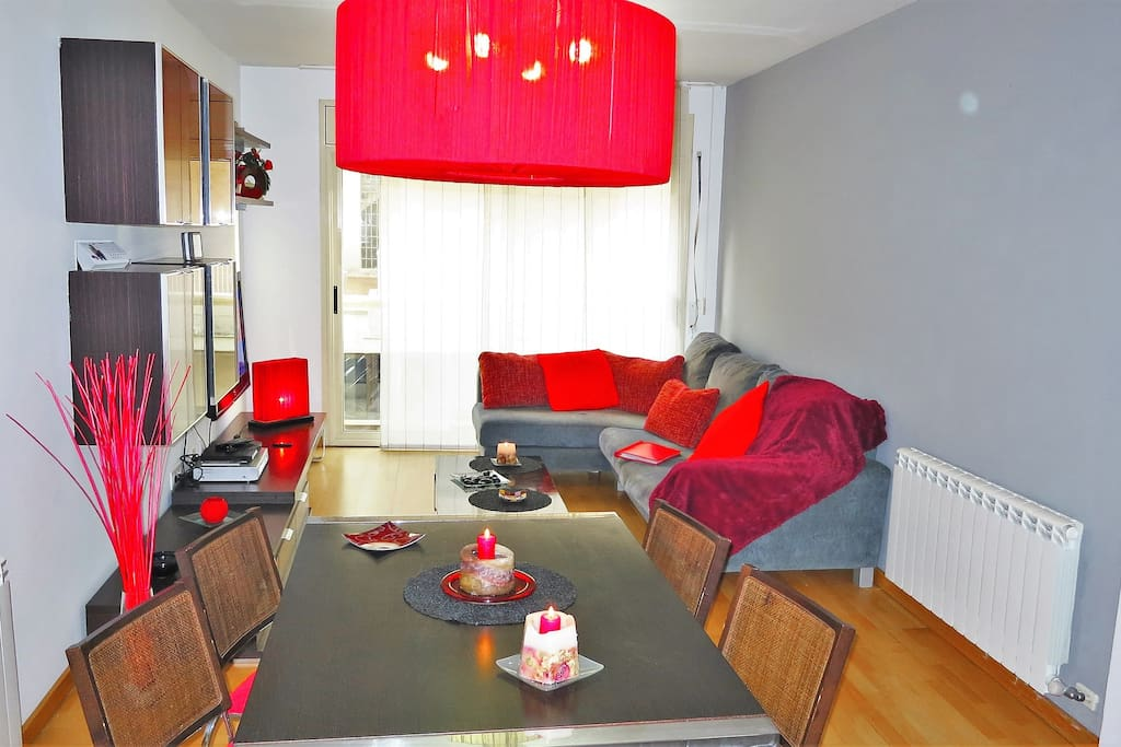 living- / dining room, Flat-TV, Wifi-internet for free
