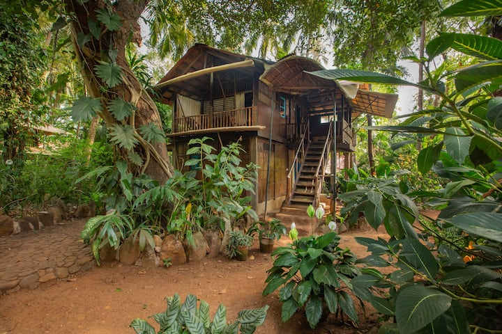 Unique Double Jungle Cabana