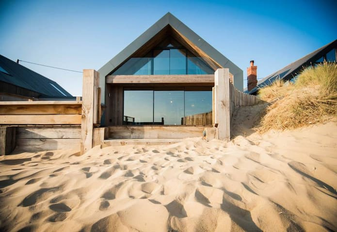 The Blue House on the Beach in Camber - Camber - Apartamento