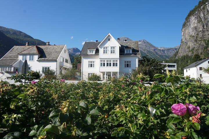 Sjarmerende og nyrenovert leilighet ved fjorden