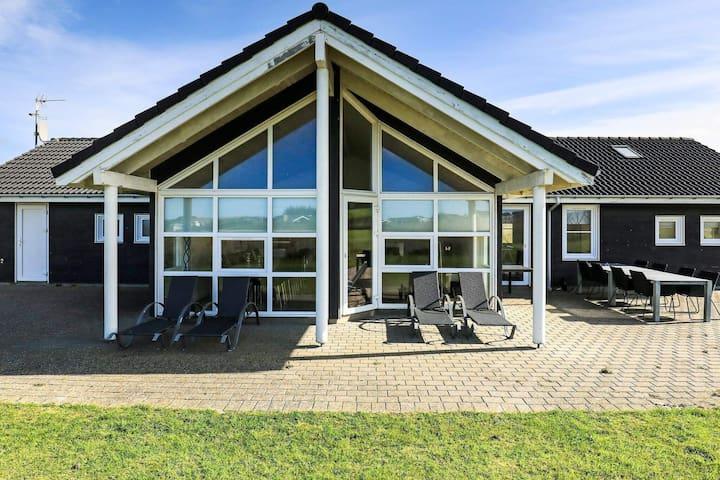Elegant Holiday Home in Lokken with Sauna