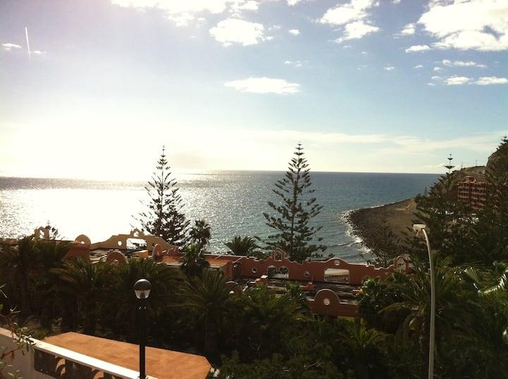 Acogedor apartamento,vistas al mar