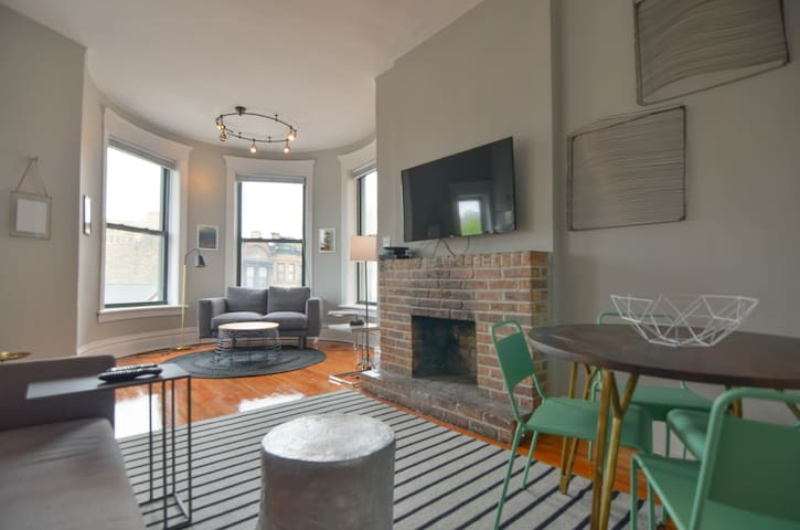 New Modern Design Lincoln Park 4 Bed Sleeps 10 Apartments For Rent In Chicago Illinois