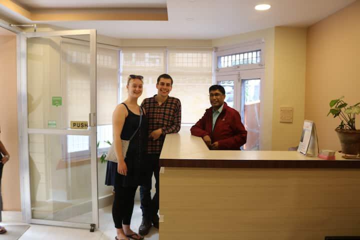 Kathmandu Peace Guest House Super Deluxe Room