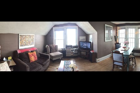 Cozy and clean in the elmwood village. - Buffalo - Apartament