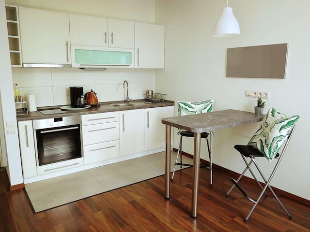 Modern apartment in Podgórze