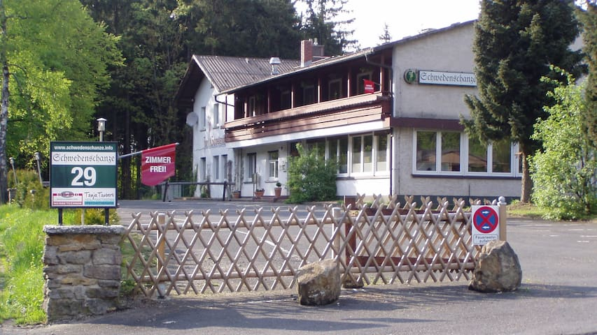 Landhauswohnung auf der Berghöhe - Gersfeld (Rhön) - Departamento