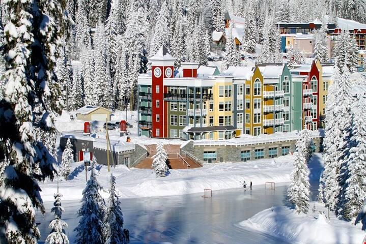 Premium Ski-in/Ski-out Condo + Private Hot Tub