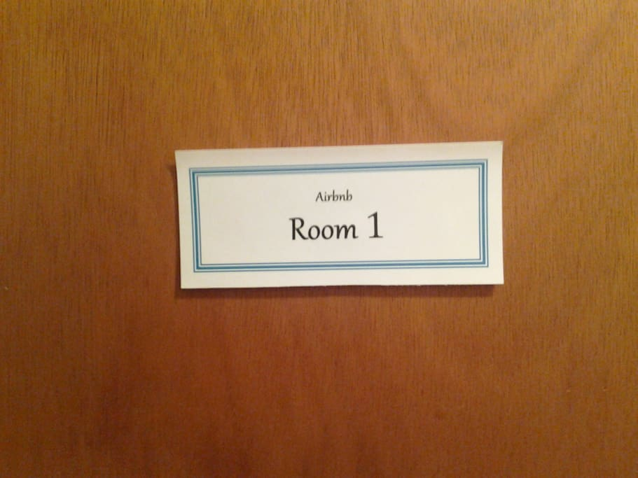 Airbnb Room 1