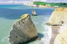 View in to Freshwater Bay