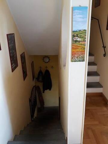 Scala di accesso alla camera