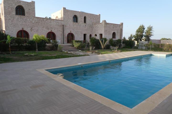 Sud d'Agadir Calme/Confort à la campagne Piscine 1