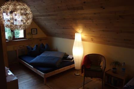 Schönes Zimmer für 2 auf Hof Mellon - Plouguernével - Maison