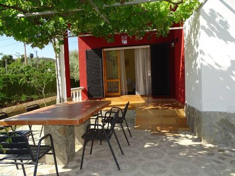 Bonita casa rural con encanto en el área de Tarragona